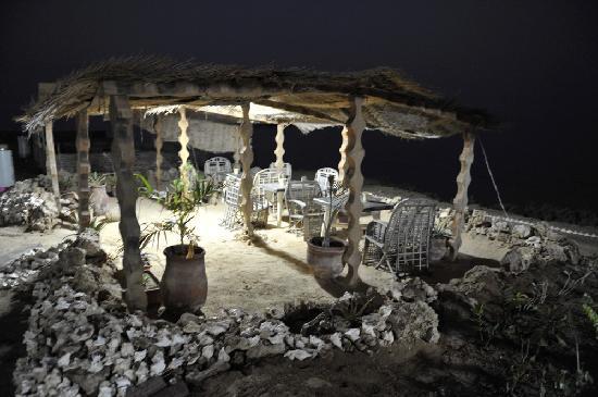 Sudan Red Sea Resort : The resort at night