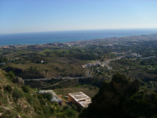Marriott's Marbella Beach Resort: The view from Mijas