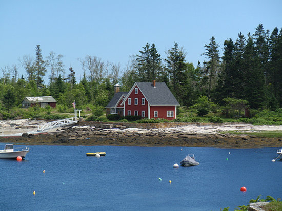 Boothbay Harbor, ME : The Wicked Witches House, Southport