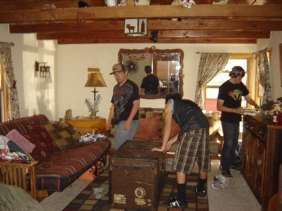 Big Bear Vacations: Family Room