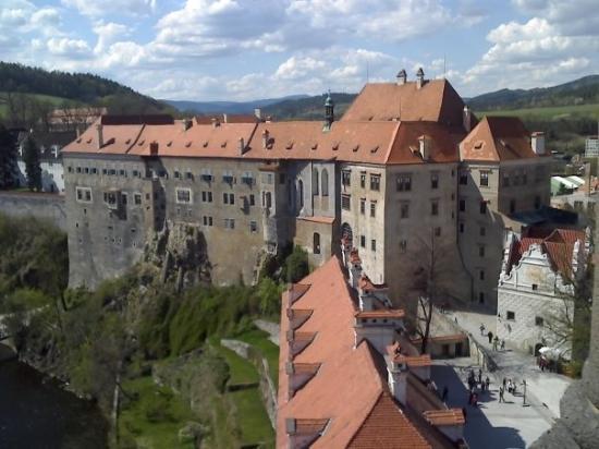 ปราสาทเชสกี้ครุมลอฟ: zámek Český Krumlov