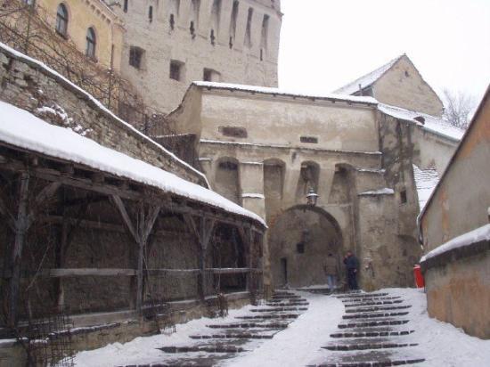 หอนาฬิกา: Sighisoara - birthplace of Vlad Dracul