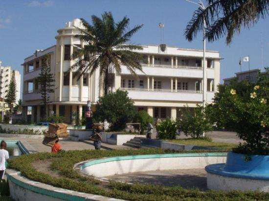 Beira city centre