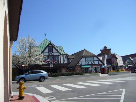 a street in solvang