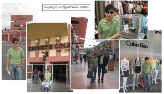 Las Vegas North Premium Outlets: Frenzy shopping at Las Vegas Premium outlet store!!