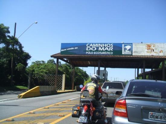 Sao Bernardo Do Campo, SP : Estrada velha de Santos... a caminho da casa de D.Pedro