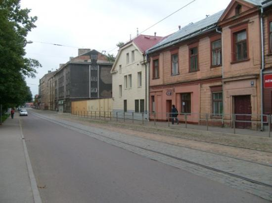 Riga, Lettland: Our hotel was in the ghetto!!! It was kind of creepy