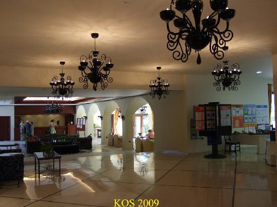 Mitsis Ramira Beach Hotel: the main reception