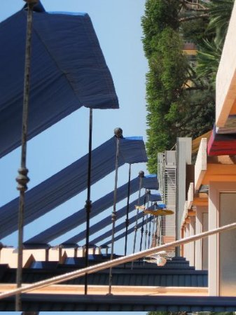 Lido Di Camaiore, Italy: view of balconies