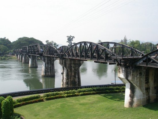 Bridge Over the River Kwai : Bron över floden Kwae