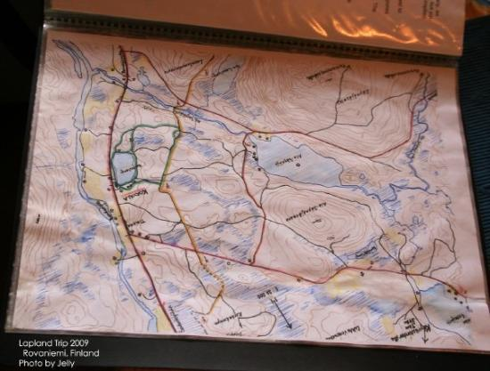 Map Picture of Rovaniemi Lapland TripAdvisor