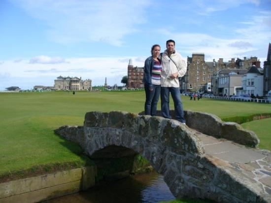 St. Andrews Bay Golf Resort: primer dia en escocia, St. Andrews, el lugar de nacimiento del golf, este peaso campo, es gratui