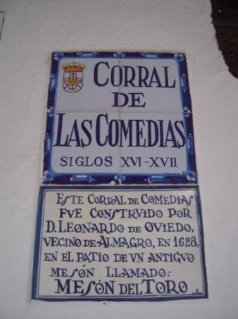 แอลมาโกร, สเปน: El Corral de Las Comedias