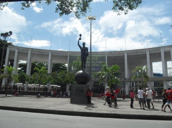 Maracanã: Stade mythique du Maracana, le plus grand du monde...