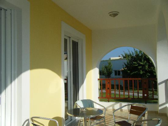 Hotel Corali: la terrasse