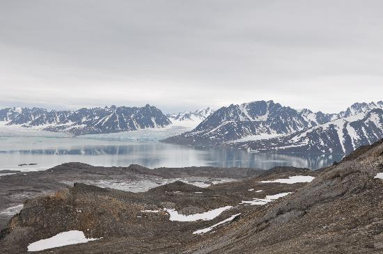 Spitsbergen, Noorwegen: Just another typical view