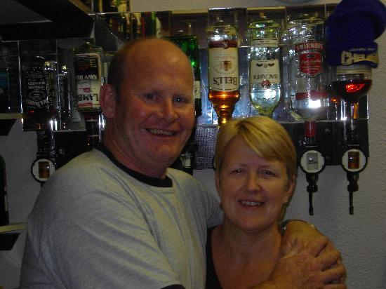 The Croydon Hotel Blackpool: pat and lynn...great hosts