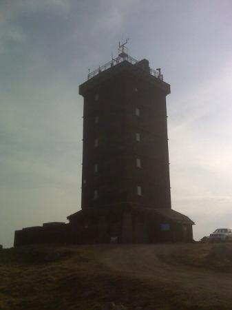 DWD-Turm, Brocken, Schierke, Sachsen-Anhalt, Deutschland