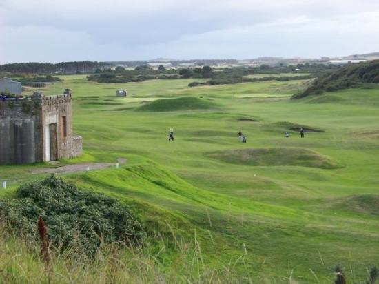 Elgin, UK: giocatori di golf