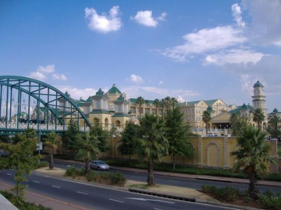 Gold Reef City - casino, theme park, restaurants, pubs, shops etc.