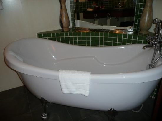 Siem Reap, Cambodge : Very luxurious - I've always wanted one of these at home!
