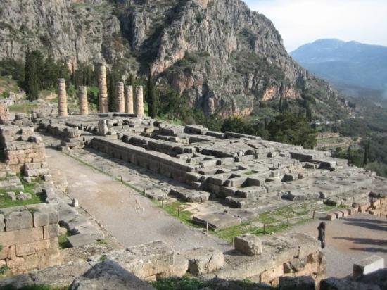 Ruines de Delphes : Delphi