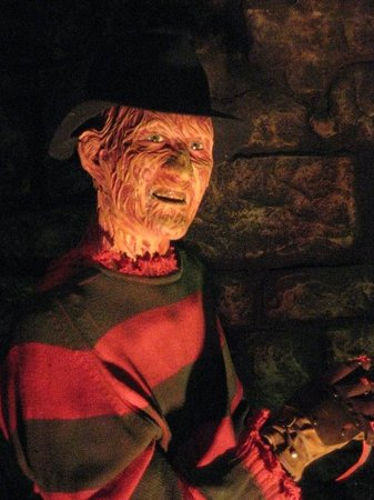 The Wax Museum at Fisherman's Wharf: Freddy!!!!