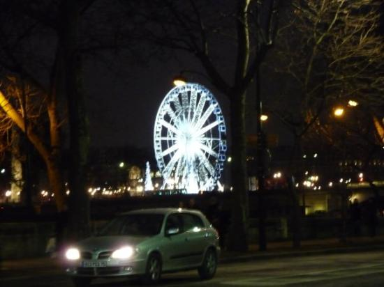 Ferris wheel in les tuileries park picture of jardin des for Plus grand jardin de paris