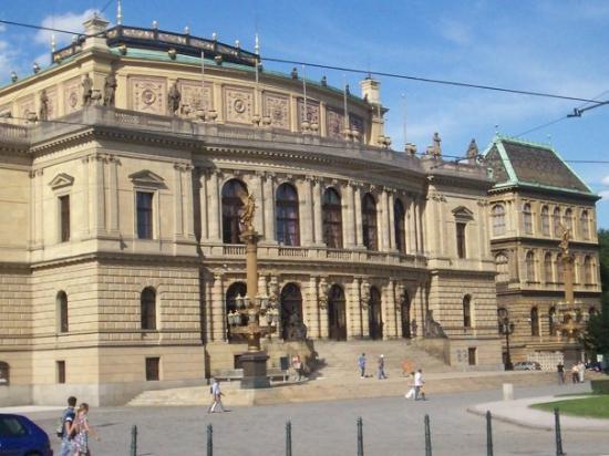 State Opera: théâtre national Opéra, Pragues, République Tchèque Juillet 2007