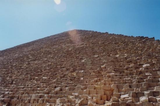 พีระมิดคูฟู: Luv this pic of one of the Pyramids
