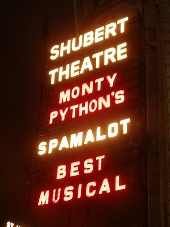 Monty Python's Spamalot, Broadway