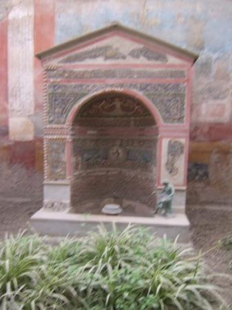La maison de la petite fontaine picture of pompeii for B b la petit maison