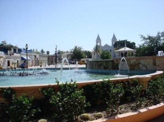 The plaza at San Jose del Cabo