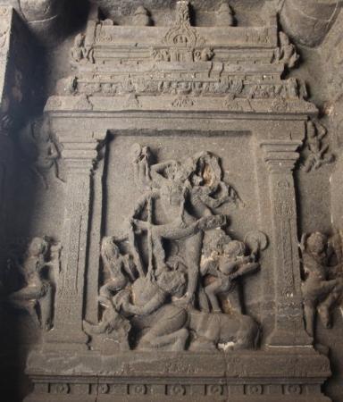 Ellora, อินเดีย: Siva Thandavam