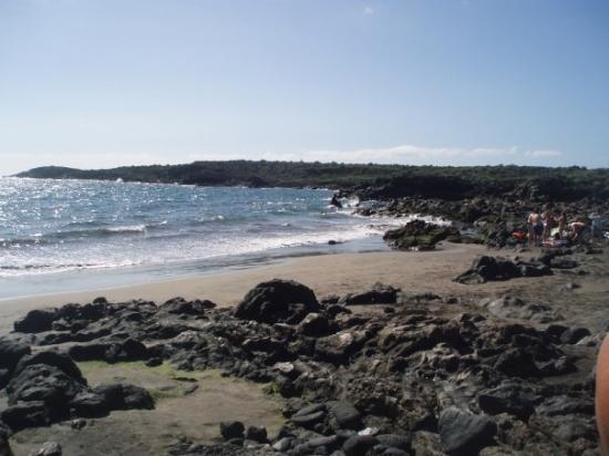 Las Galletas, Espanha: playa de El Fraile