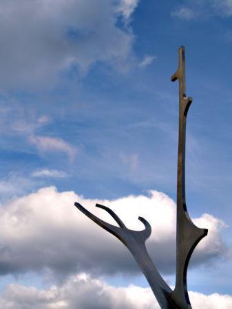 Solfar (Sun Voyager) Sculpture: Viking Sculpture, Reykjavík