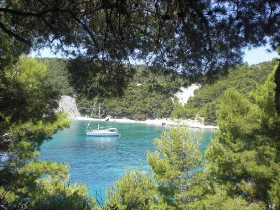 Hvar, Croacia: naked people beach