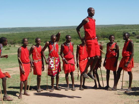 Mara Simba Lodge : In the Masai Village