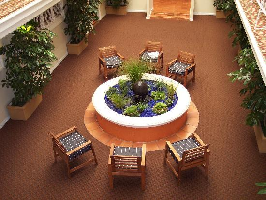 Suites at Fisherman's Wharf : First floor courtyard from the second floor