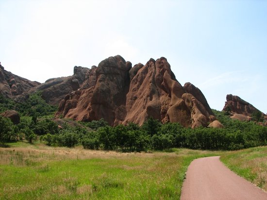 Littleton, CO: Rock formation