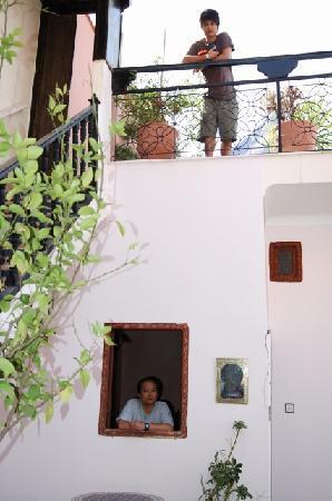 Riad Paula : 2階とテラス