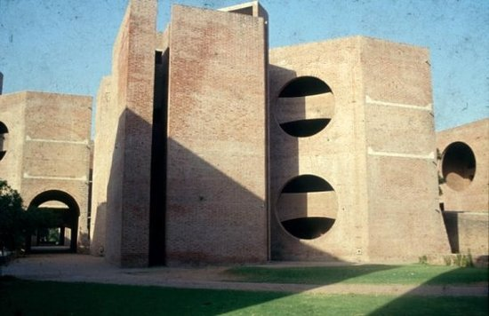 Ahmadabad, Indie: dorms - Indian Institute of Management, Ahmedabad - Louis Kahn