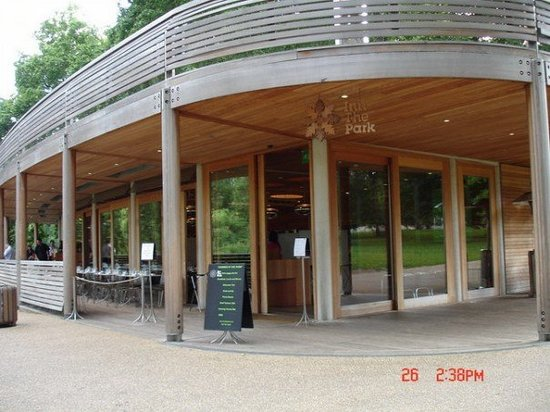 St. James's Cafe: This is Inn the Park, in the St James's Park