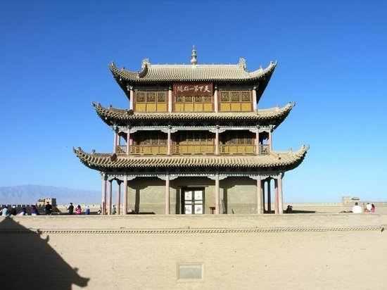 """The First Beacon Tower : """"天下第一雄關"""" """"The Greatest Pass under Heaven"""""""