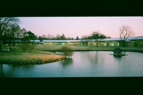 Karuizawa prince shopping plaza: Outlet環境就好靚  Beautiful landscape of the Outlet