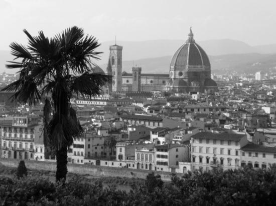 Basilica San Miniato al Monte: view from san miniato