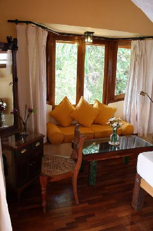 Villa Rosa: Sitting Corner in the Honeymoon Suite