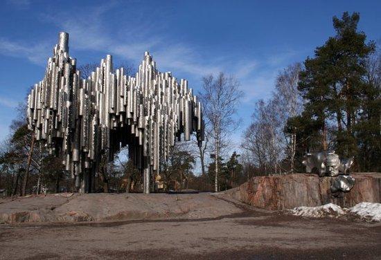 Sibeliuspuisto ja Sibelius-monumentti