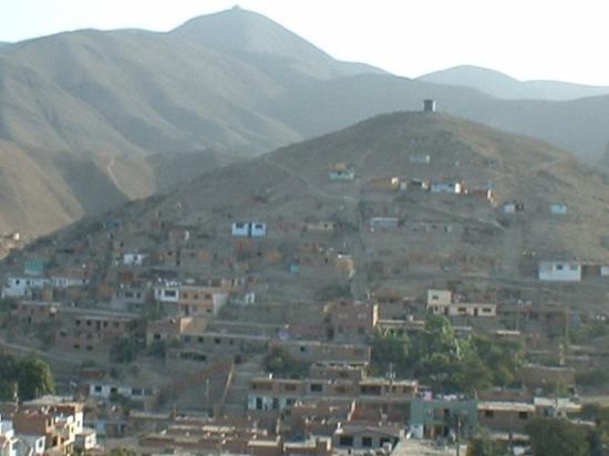Lima, Peru: Hills over Santa Rosa Puente Piedra