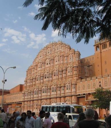 Hawa Mahal - Palace of Wind: Hawa Mahal, Vindenes Palads
